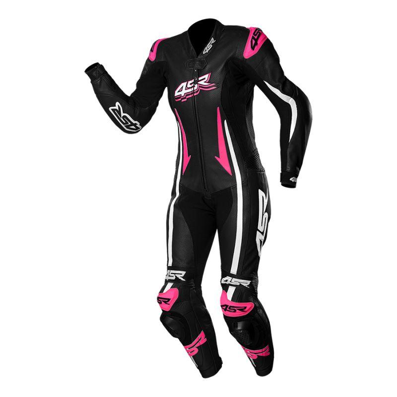 Dámská jednodílná kombinéza 4SR Racing Lady Pink