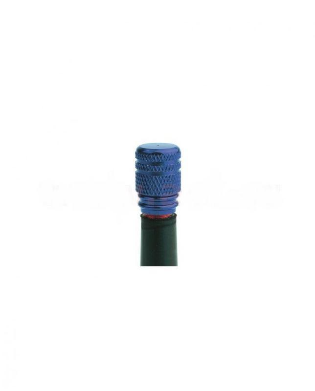 Kovové čepičky ventilků OXFORD - modrá