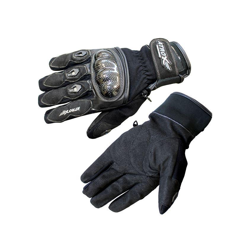 Letní MOTO rukavice s kevlarem
