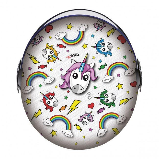 Dětská otevřená přilba GREX G1.1 Artwork Unicorn