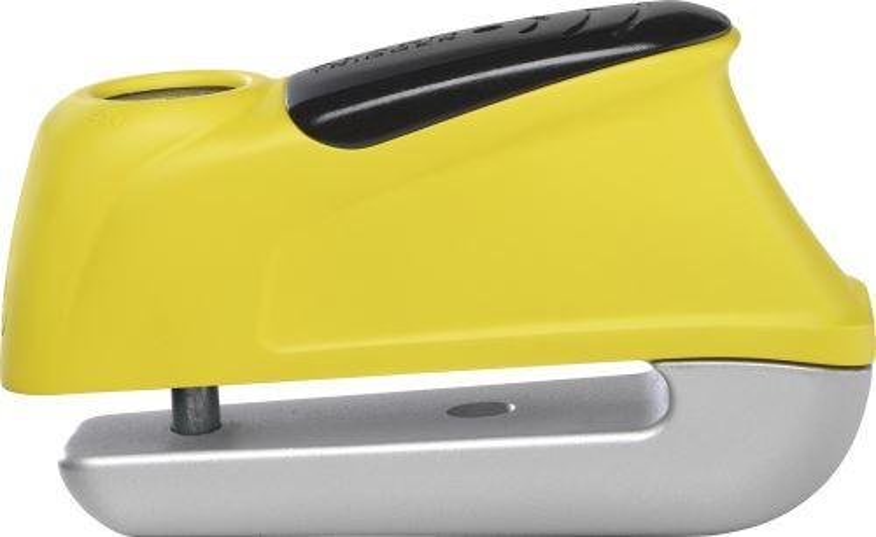 Moto zámek s alarmem ABUS 345 Trigger Alarm Yellow