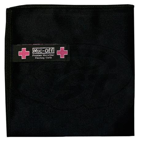 Útěrka z mikrovlákna MUC-OFF Premium Helmet & Visor Microfibre Cloth