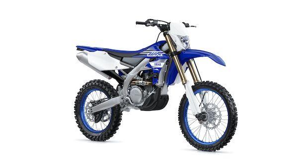 Yamaha WR450F - bez homologace