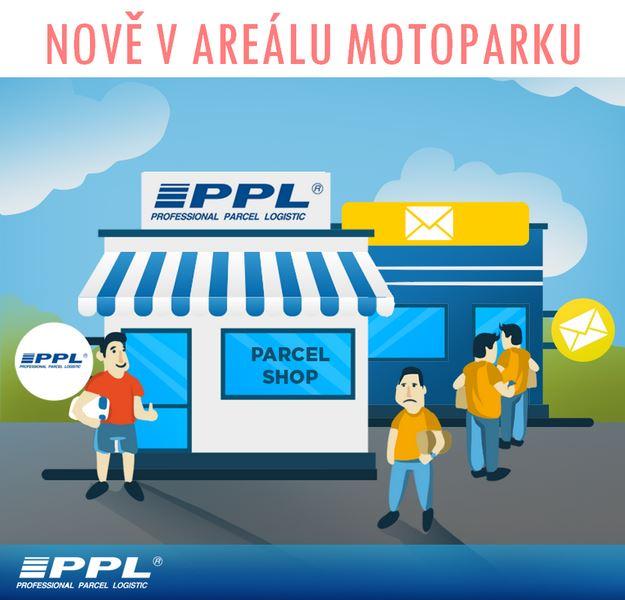 V areálu Motopark Ostrava nyní nabízíme službu PPL Parcelshop