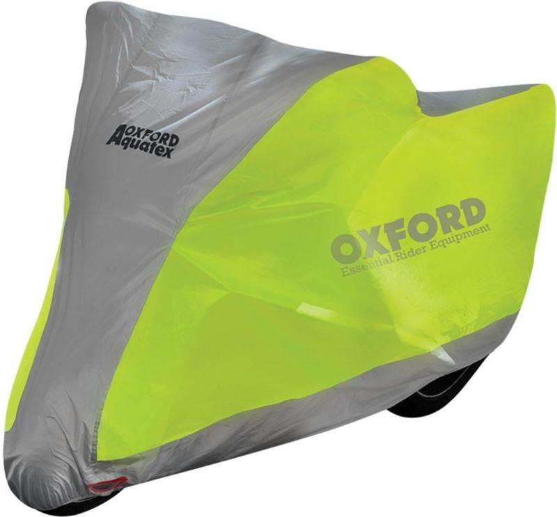 Plachta na motorku OXFORD Aquatex Fluo