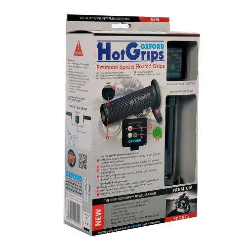Vyhřívané gripy OXFORD Hotgrips Premium Sports