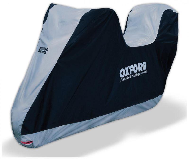 Plachta na motorku OXFORD Aquatex s protorem na kufr