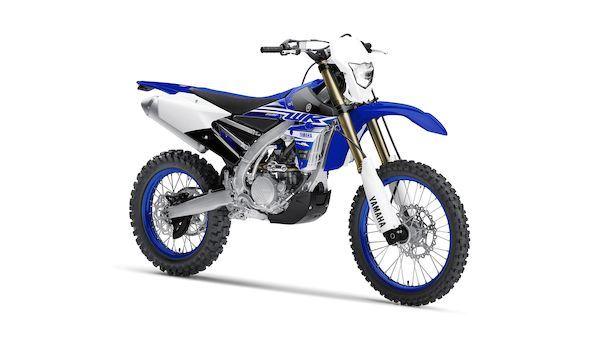Yamaha WR250F - bez homologace