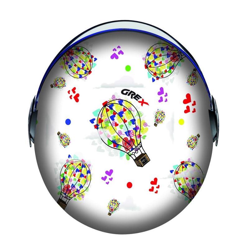 Dětská otevřená přilba GREX G1.1 Artwork Baloon